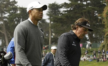 Tiger Woods makes storming start to US Open as Phil Mickelson falters