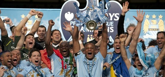 Manchester City win the league