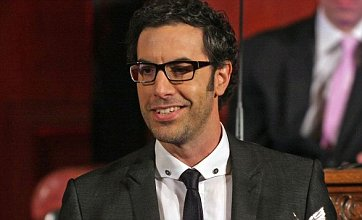 Sacha Baron Cohen delays new Les Misérables film after losing his voice
