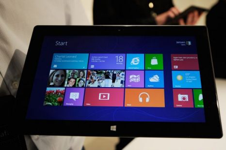 Microsoft, Surface, tablet