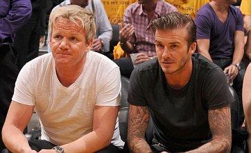 Gordon Ramsay hails 'extraordinary' Victoria and David Beckham