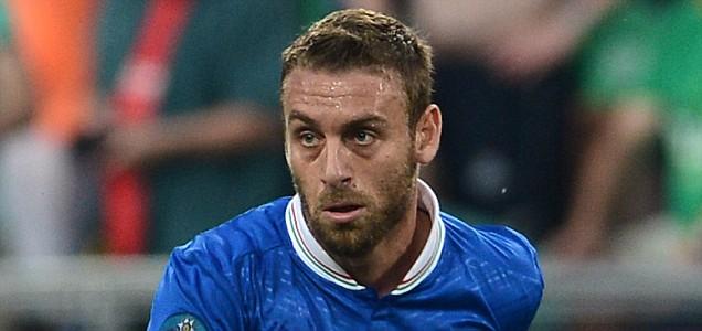 Italian midfielder Daniele De Rossi