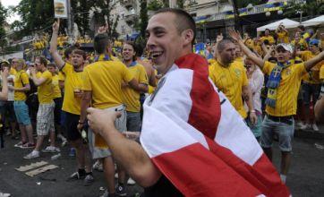 England fined £4k by Uefa for fans 'pitch invasion' v Sweden at Euro 2012