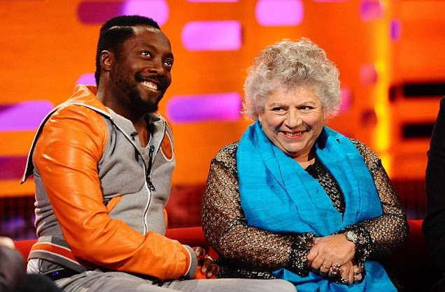 Will.i.am Miriam Margolyes Graham Norton Show