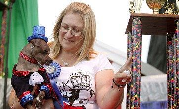 World's Ugliest Dog title goes to British hound Mugly