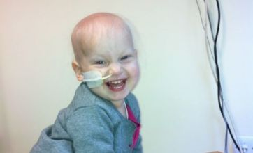Cancer girl's parents have 18 days to raise £152,000 for operation