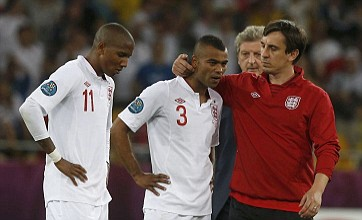 FA hit out at Twitter race abuse at Ashley Cole and Young after Euro 2012 KO