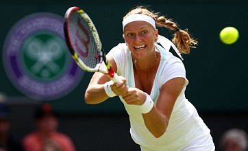 Petra Kvitova completes nervy first round win over Akgul Amanmuradova