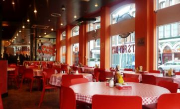 Shakes, fries and onion rings fill up the menu at Johnny Fontane's
