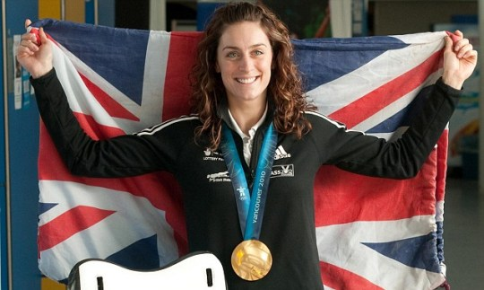 London 2012 Olympics Amy Williams Strictly Come Dancing