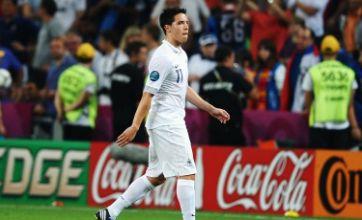 France midfielder Samir Nasri apologises for 'regretful' outburst