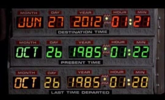 Back to the future, DeLorean