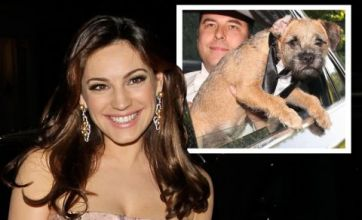 David Walliams' dog Bert outshines Kelly Brook at Elton John's annual ball