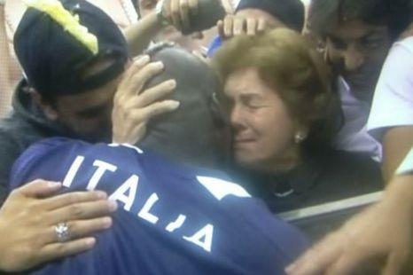 Mario Balotelli, mum.