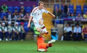 Christian Eriksen is a Manchester United transfer target (Allstar)