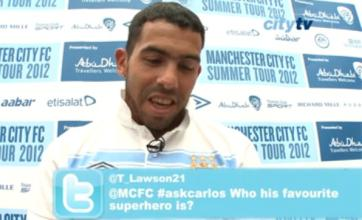 Carlos Tevez: My favourite superhero is Mario Balotelli
