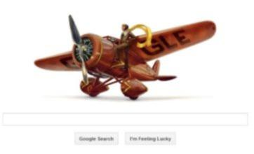 Aviator Amelia Earhart gets Google Doodle for her 115th birthday