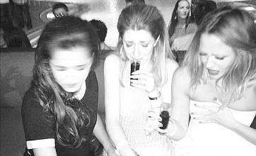 Cheryl Cole celebrates birthday with Nicola Roberts and Kimberley Walsh