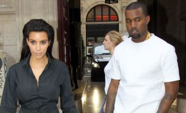 Kim Kardashian drags an unhappy Kanye West to Paris for fashion week