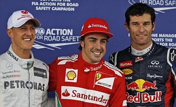 Fernando Alonso takes British GP pole as Lewis Hamilton struggles