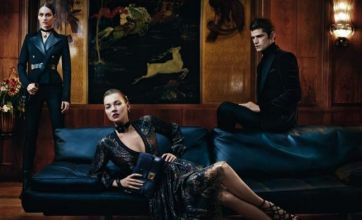 Kate Moss vamps it up in new Salvatore Ferragamo campaign