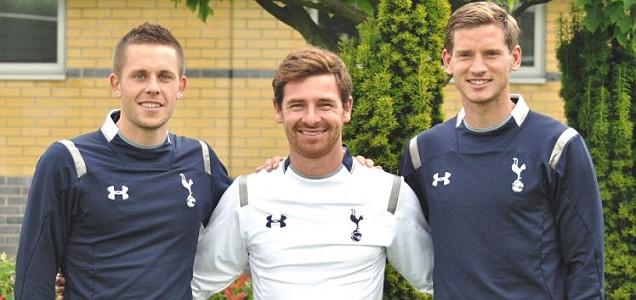 Tottenham Hotspur's New Signings Gylfi Sigurdsson and Jan Vertonghen