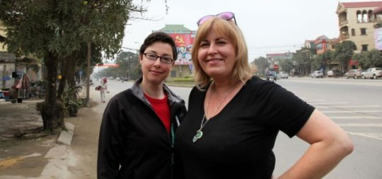 Liza Tarbuck and Sue Perkins, World's Most Dangerous Roads