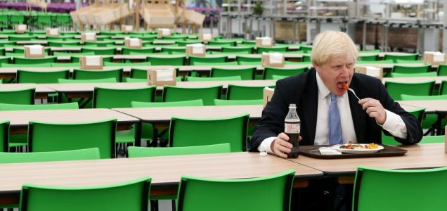 London 2012 Olympics village Boris Johnson