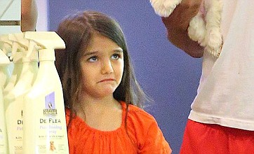 Suri Cruise left in tears after trip to pet shop with Katie Holmes