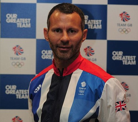 London 2012 Olympics football Ryan Giggs Manchester United