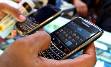 BlackBerry maker incurs £94m loss over US patent case