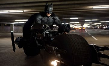 The Dark Knight Rises star Bale spent time alone in Batsuit after saying bye
