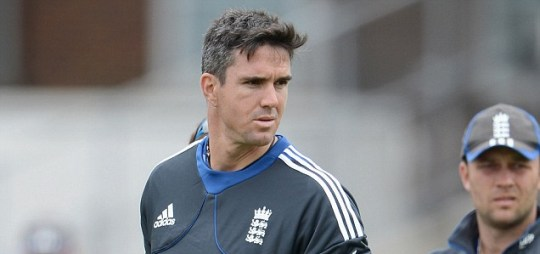 Kevin Pietersen of England
