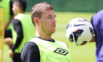Edin Dzeko transfer talk rubbished by Manchester City