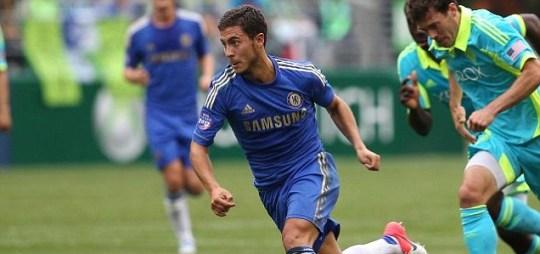 Eden Hazard #17 of Chelsea FC