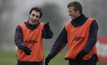 Gary Neville tells David Beckham to 'man up' after London 2012 omission