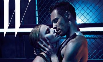 Prometheus stars Michael Fassbender and Charlize Theron in kinky shoot