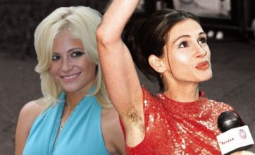 Pixie Lott and Julia Roberts: Celebrity armpit hair Face Off
