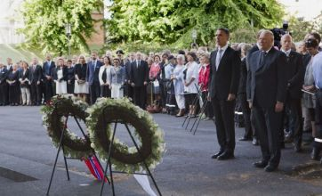 Norway remembers massacre victims one year on