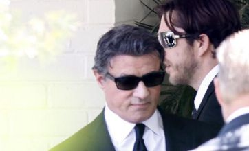 Sylvester Stallone watches son Sage laid to rest in Los Angeles funeral