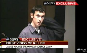 Video emerges of Aurora shootings suspect James Holmes aged 18