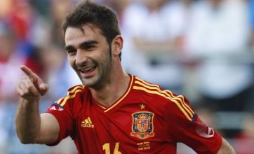Adrian Lopez in no rush to leave  Atletico Madrid for Arsenal or Spurs