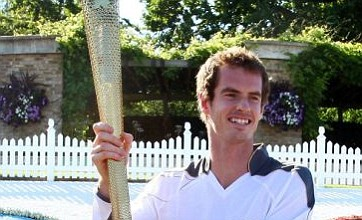 Andy Murray lights up Wimbledon on latest leg of Olympic torch relay