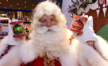 Santa Claus arrives in town early as Harrods open Christmas World