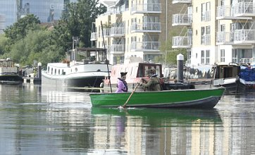 London's waterways are bringing the 2012 cultural festival to the capital