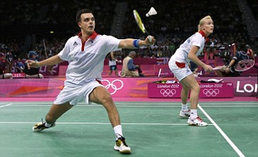 Team GB's Chris Adcock and Imogen Bankier out of badminton mixed doubles
