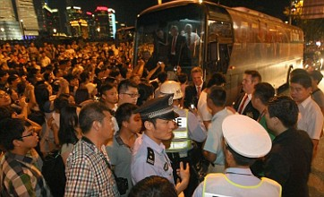 Manchester United coach driver becomes players' hero in Shanghai
