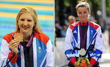 Lizzie Armitstead and Rebecca Adlington win Team GB's first medals