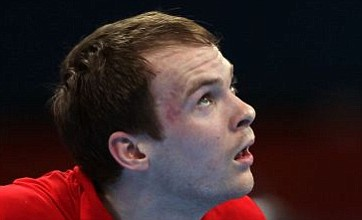 Table tennis disappointment as Paul Drinkhall's London 2012 run ends
