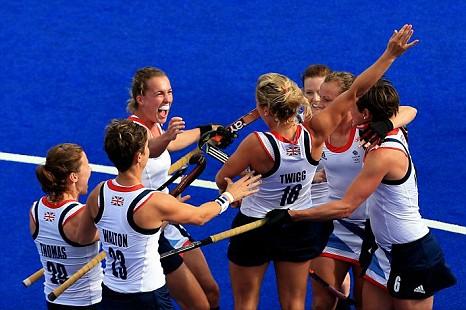 Team GB v South Korea, hockey, London 2012